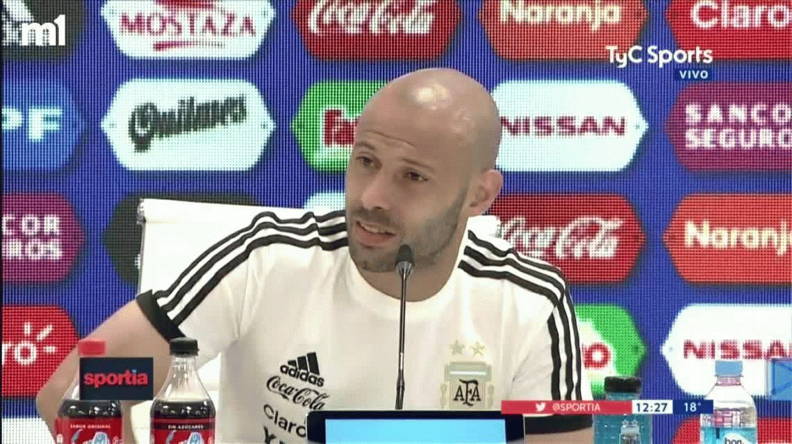 Mascherano, tras la baja de Sergio Romero: Son cosas del fútbol