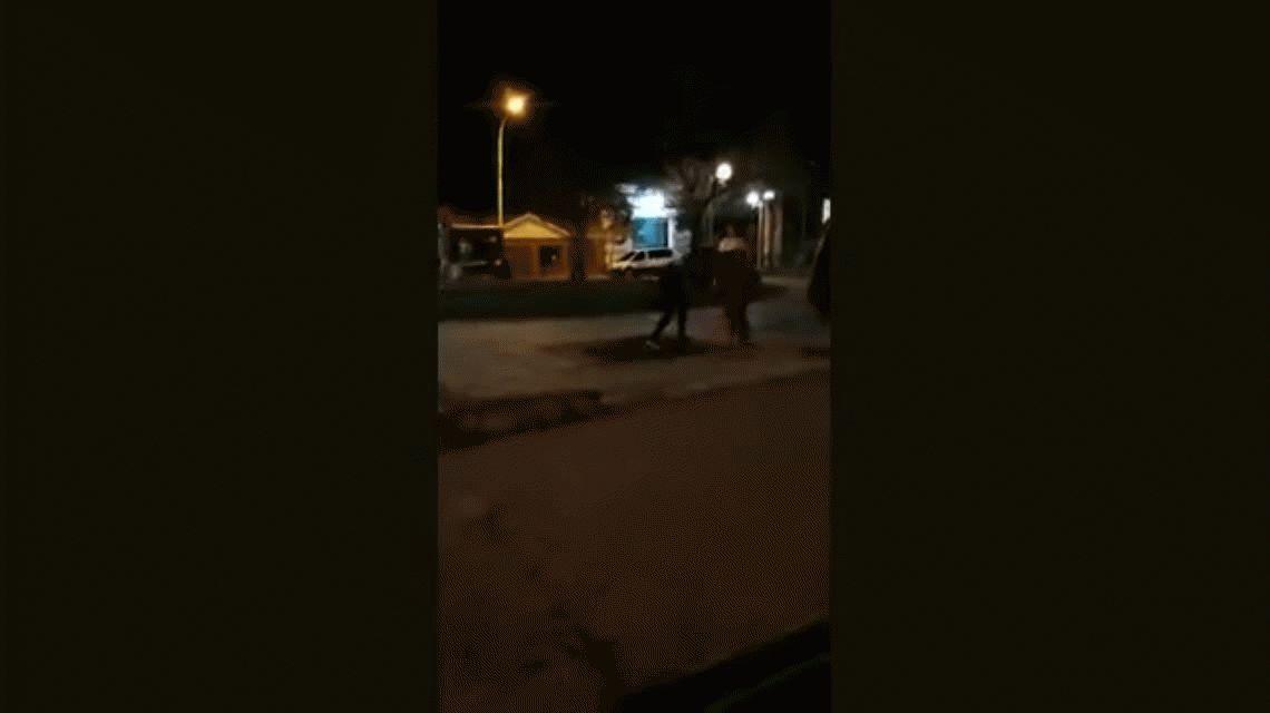 Dos chicas se pelearon en medio de la calle: Matala, matala