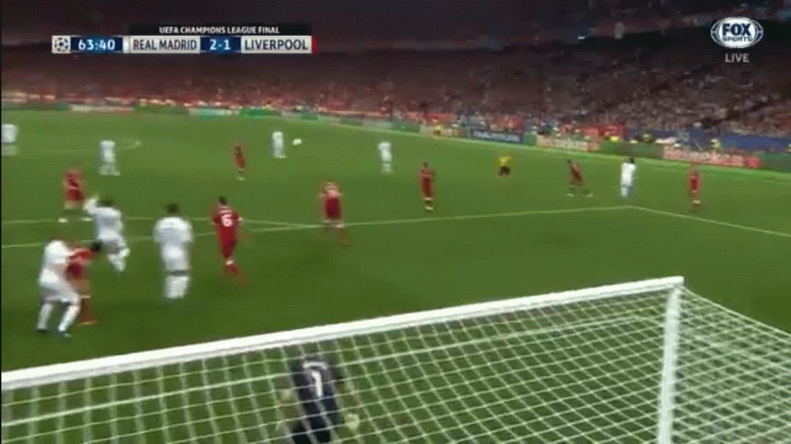 VIDEO: ¡Espectacular! El golazo de chilena de Bale en la final de la Champions League