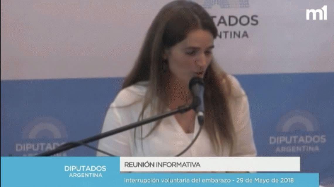 Aborto: La Loca del bebito minimizó la violación e hizo una polémica comparación