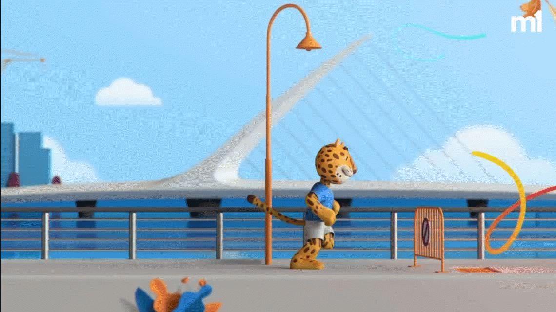 Presentaron a #Pandi, la mascota de los Juegos Olímpicos de la Juventud