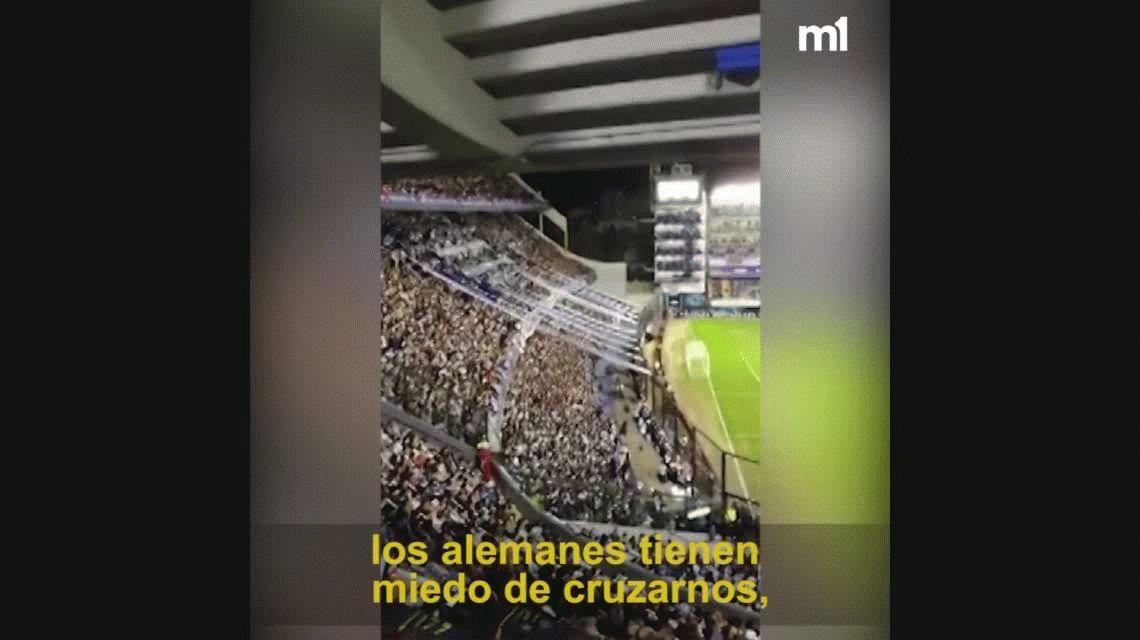 VIDEO: Contra Alemania, Inglaterra y Brasil: la canción de la hinchada de Boca para el Mundial