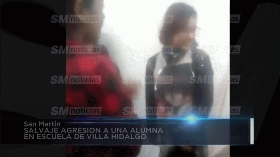 VIDEO: Brutal ataque de una chica a su compañera en una escuela de San Martín