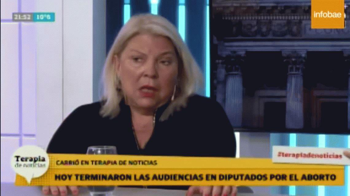Barrabasada de Carrió: A las niñas de 12 años violadas las harán abortar