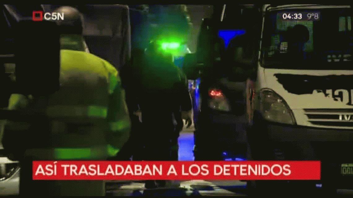 Motín en Bernal: presos hacinados incendiaron calabozos de la comisaría