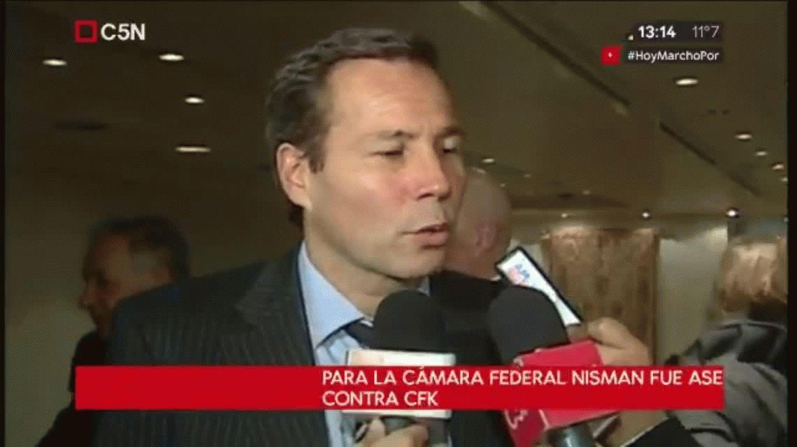 Para la Cámara Federal, Nisman fue asesinado por su denuncia contra Cristina