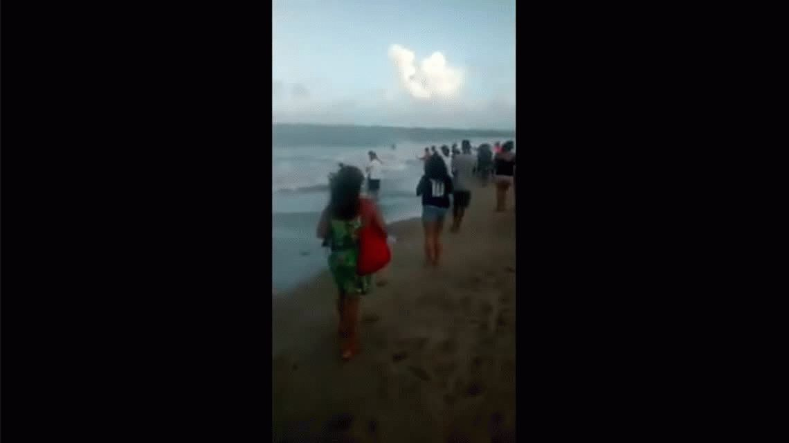 Un tiburón mató a un joven en una playa de Brasil