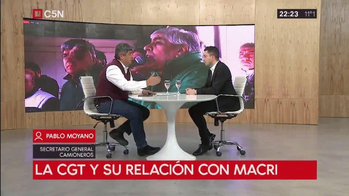 Pablo Moyano aseguró que el paro general de Camioneros será contundente