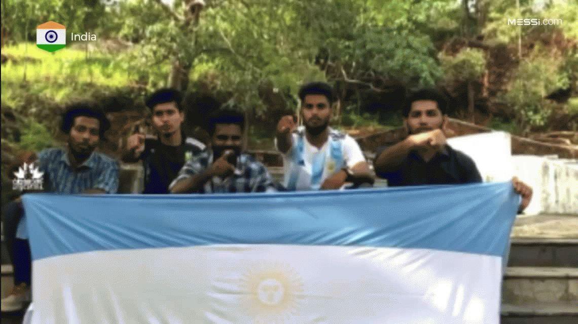 #VamosLeo Siguen buscando el mejor video de aliento a Messi para el Mundial