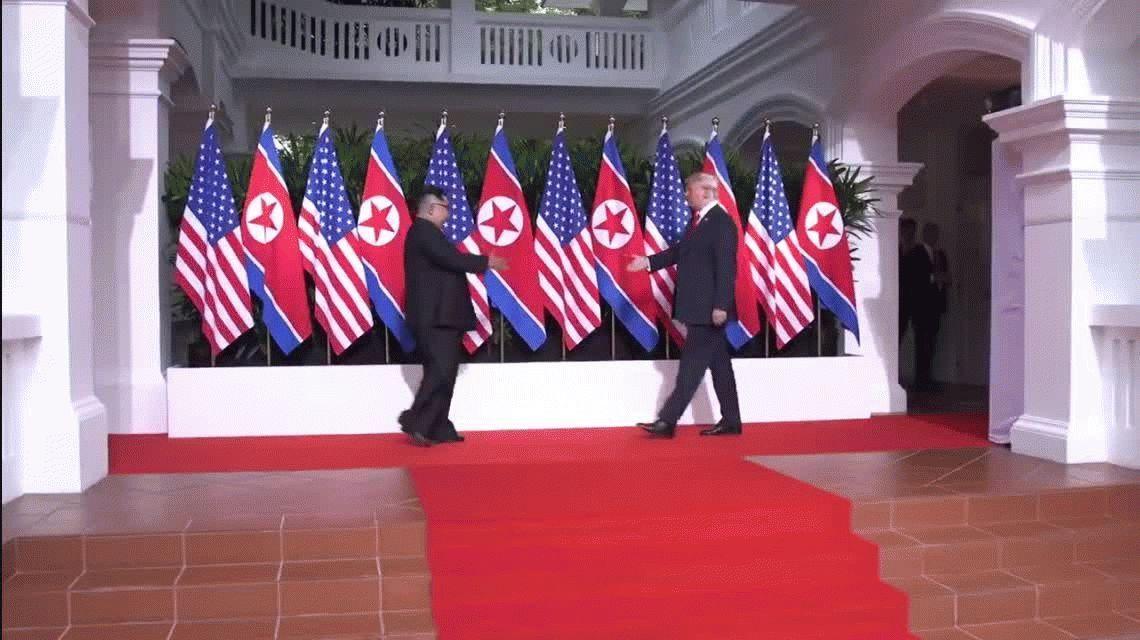 El menú de la histórica cumbre entre Trump y Kim: camarones, costilla de ternera y helado