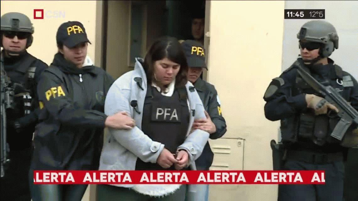 Doble crimen narco: insólito hallazgo en la casa de la abogada detenida