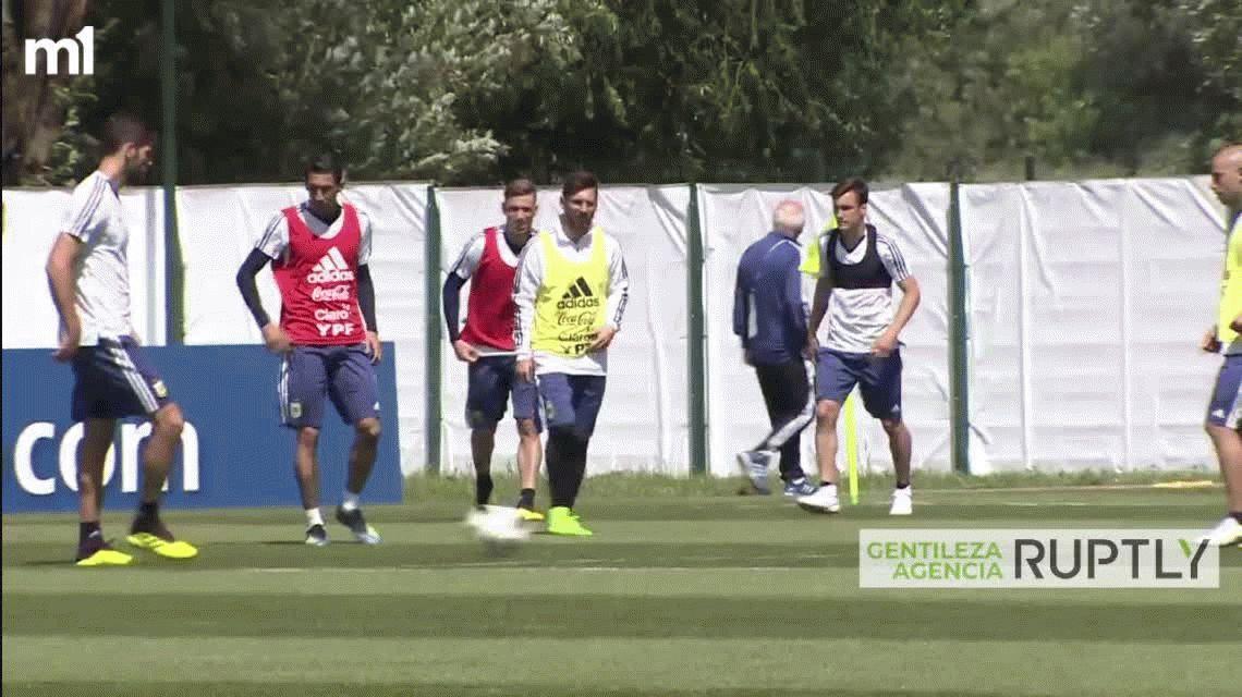 Sampaoli confirmó el equipo para enfrentar a Islandia en el debut
