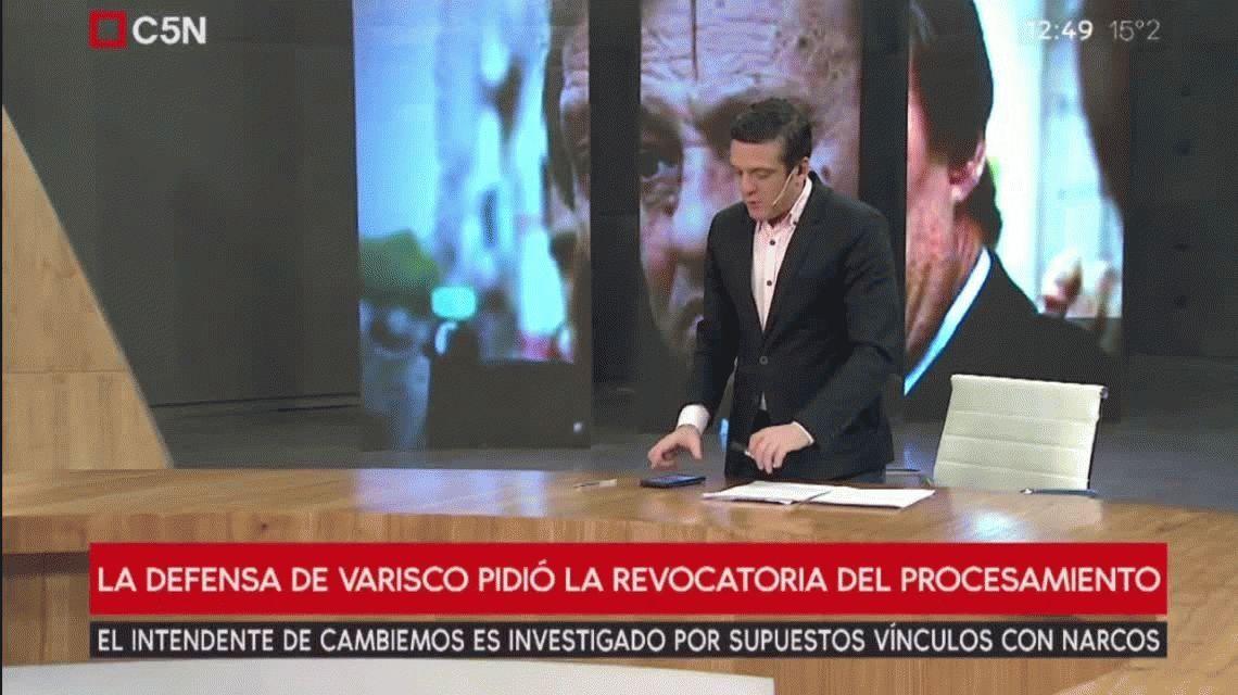 Piden la revocatoria del procesamiento de Sergio Varisco
