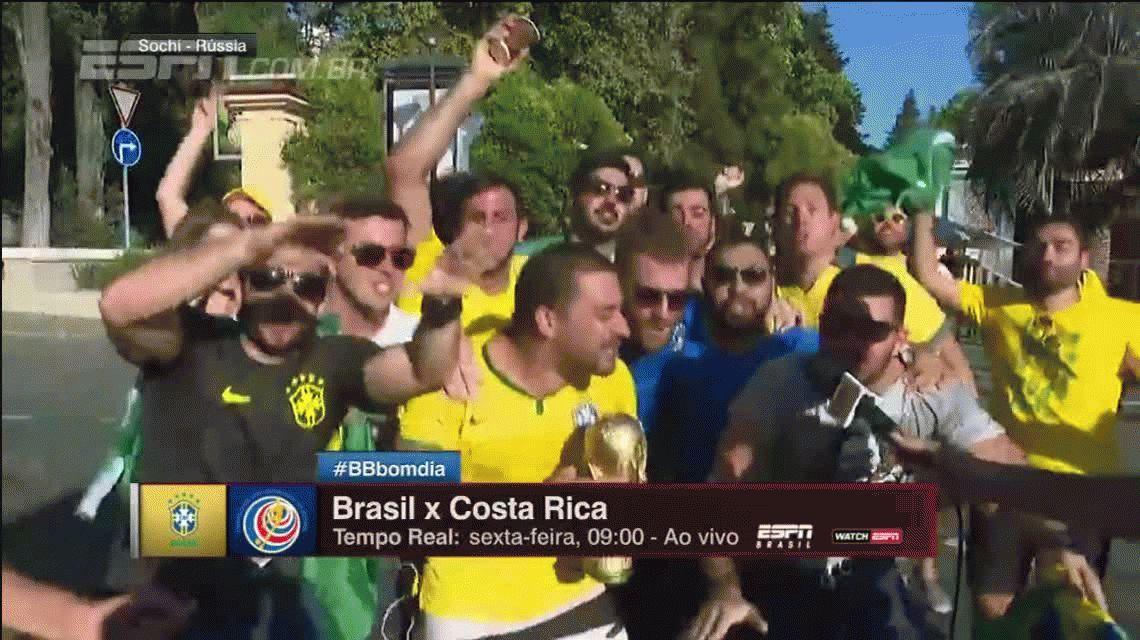Messi chau: el cantito de los brasileños con el que se burlan de Argentina