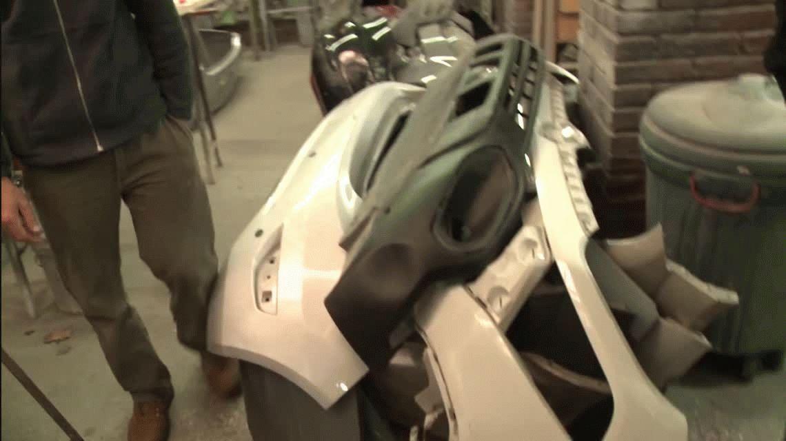 Cayeron Los Simuladores de autopartes: pulían las piezas ilegales para venderlas como nuevas