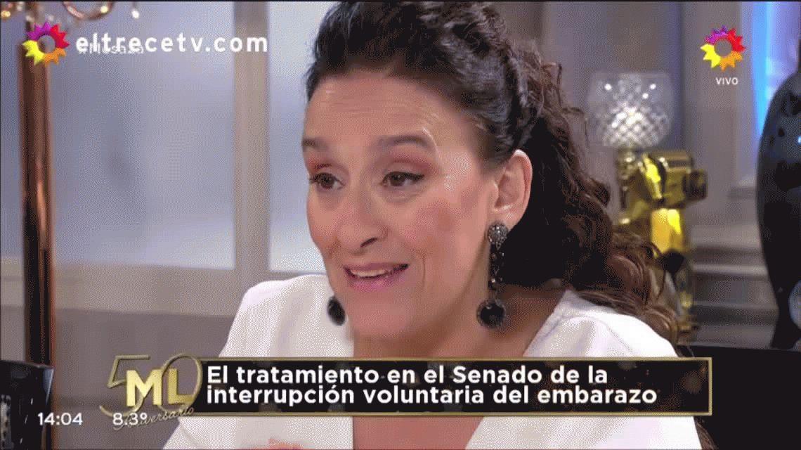 Es confuso, no se entiende: Mirtha cruzó a Michetti por dilatar el debate del aborto
