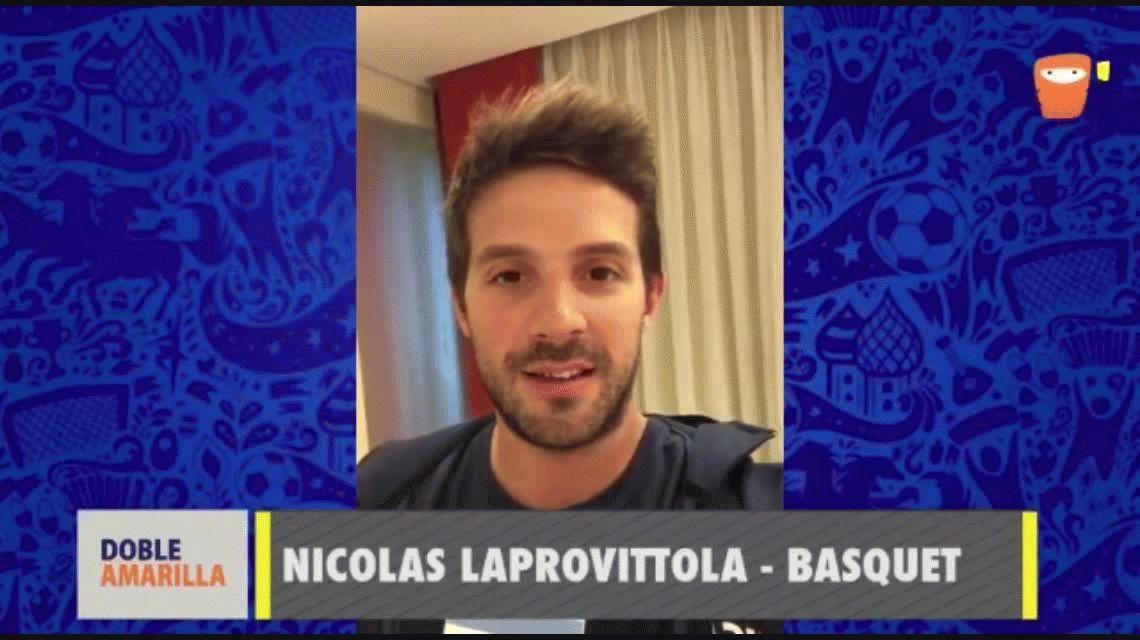 Los deportistas argentinos, rendidos ante la Selección: el saludo antes del partido con Francia