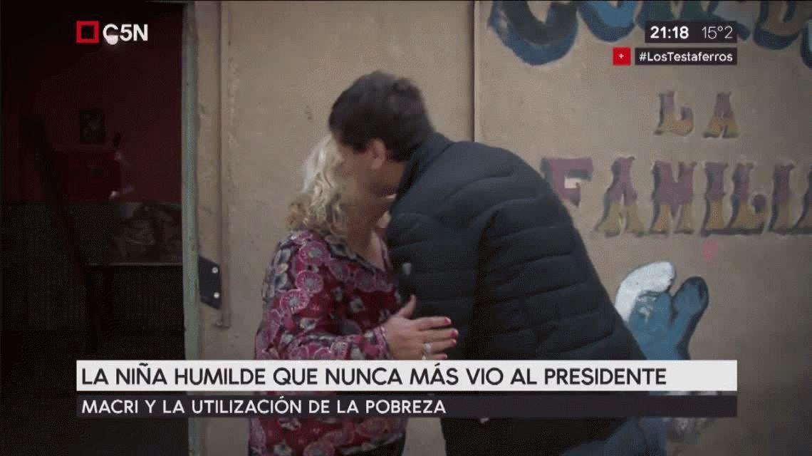 La nena del basural habla por primera vez: Yo lo ayudé a Macri a ser lo que es ahora y me usó