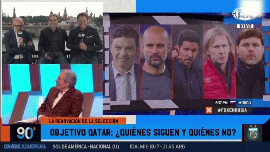 ¿Guardiola a la Selección? La terrible reacción de Oscar Ruggeri al aire