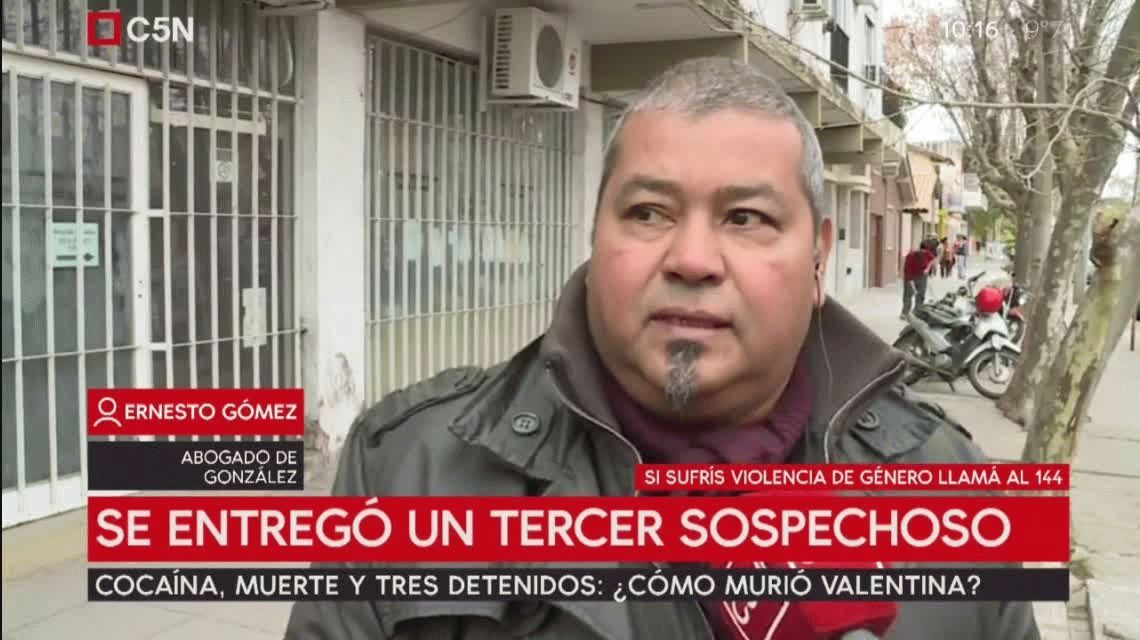 Se entregó un tercer sospechoso por la muerte de Valentina Urbano