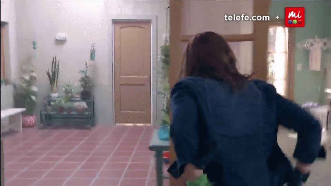 Nancy Dupláa actuó con el pañuelo verde del aborto en 100 días para enamorarse