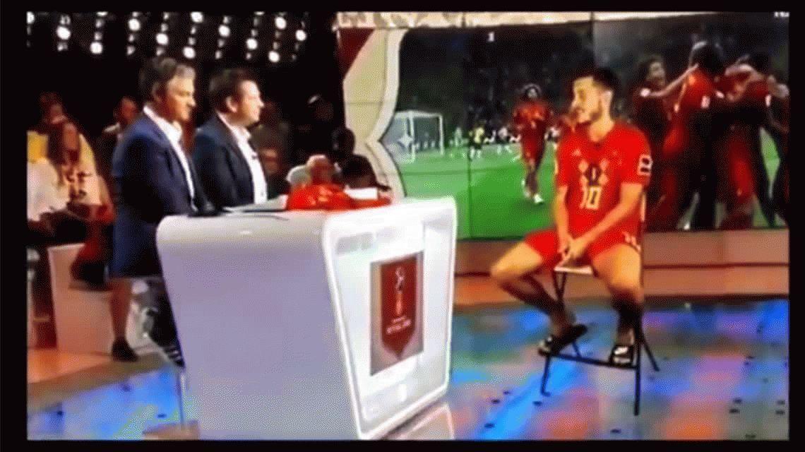 La entrevista de la que todos hablan: la TV belga y el holograma de Hazard