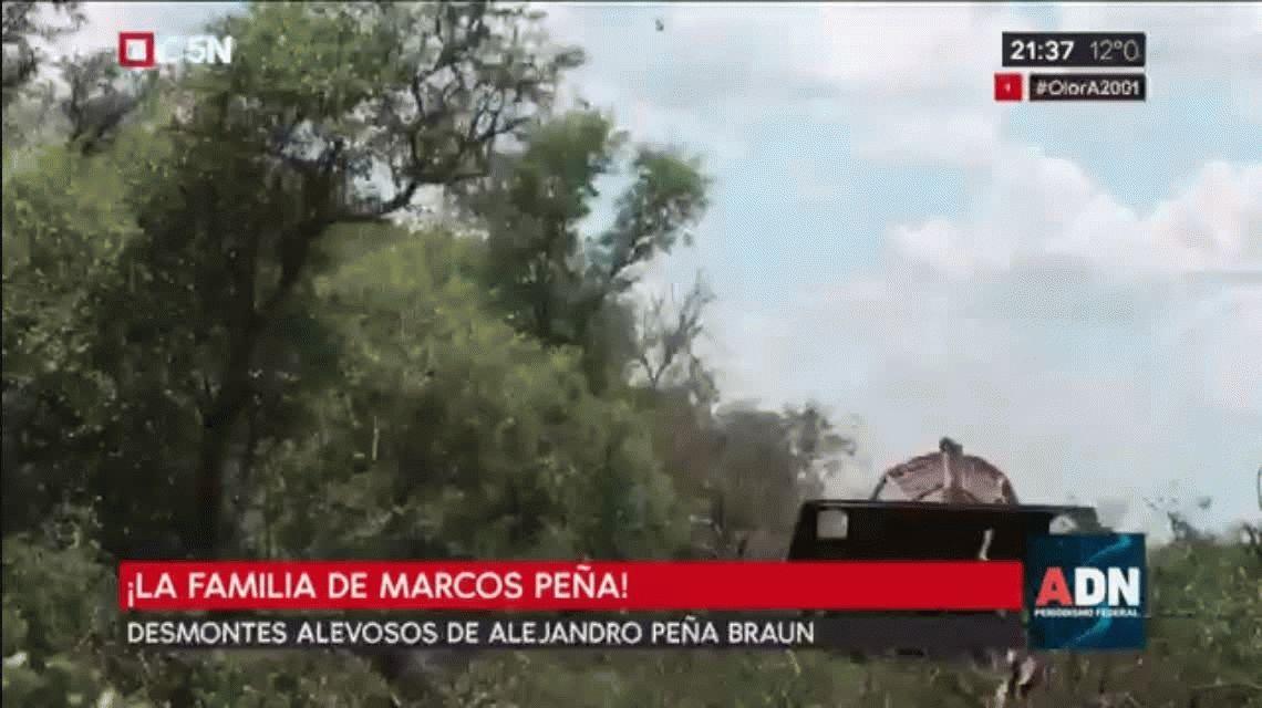 Tienen suerte de que no estamos en la época de Yabrán, la amenaza del abogado del primo de Marcos Peña a Greenpeace