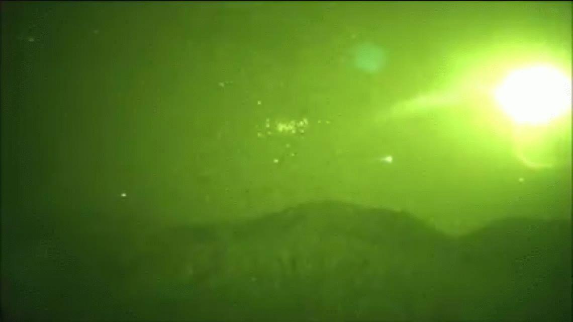 VIDEO: Una misteriosa luz en el cielo causó conmoción en San Juan