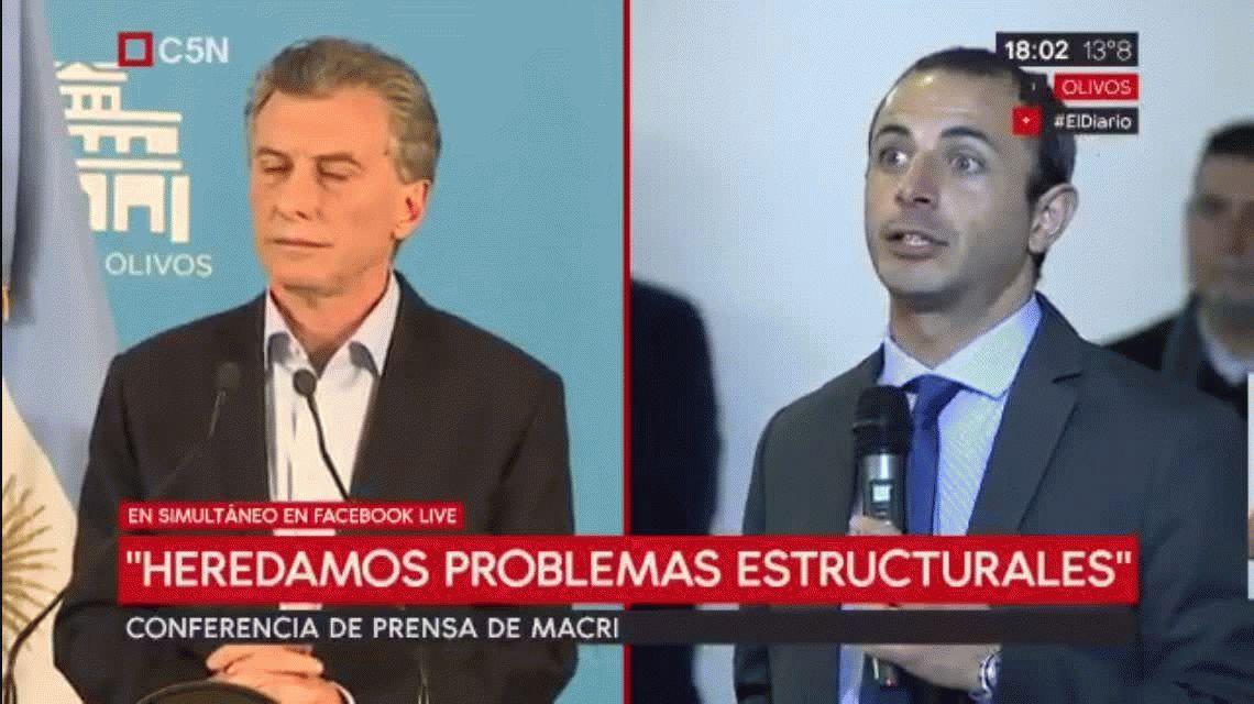 Macri, sobre los aportantes truchos: Haremos una auditoría para que se clarifique lo sucedido