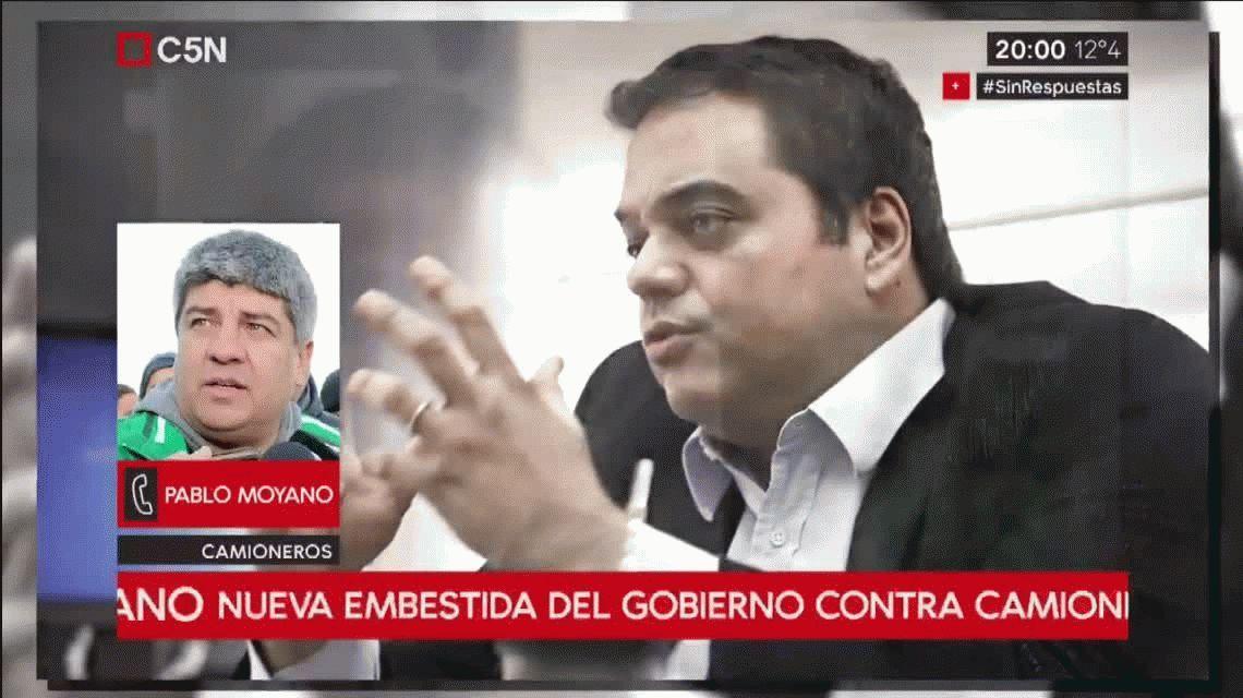 Pablo Moyano responde a la multa del Gobierno: Que se banquen la reacción de los trabajadores