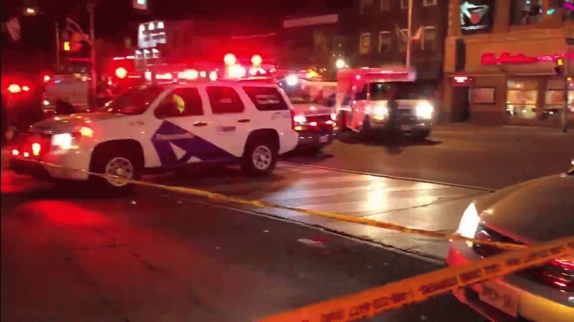 Tiroteo en restaurante de Canadá: una mujer muerta y varios heridos