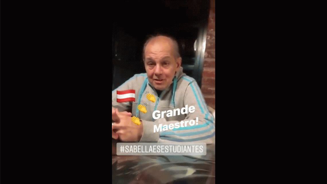 En la semana en la que se elige DT de la Selección, reapareció Alejandro Sabella