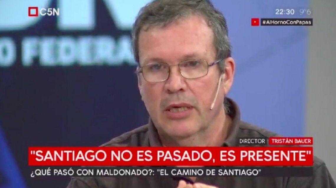 Tristan Bauer y la película de Santiago Maldonado: Puedo decir lo que no pasó y es que no se ahogó
