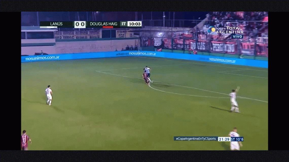 ¿Está pensando en Boca? Andrada tuvo un flojo partido con Lanús por Copa Argentina