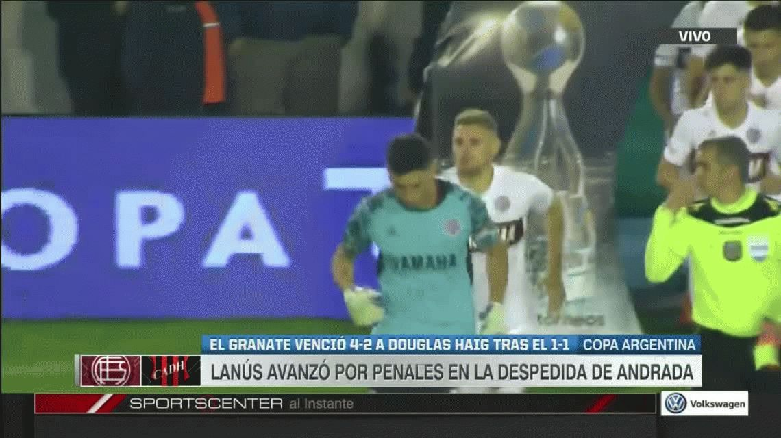Lanús sufrió más de lo esperado ante Douglas Haig pero avanzó en la Copa Argentina