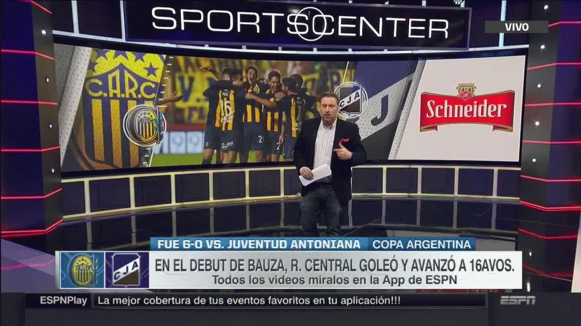 Rosario Central aplastó a Juventud Antoniana de Salta y avanza en Copa Argentina