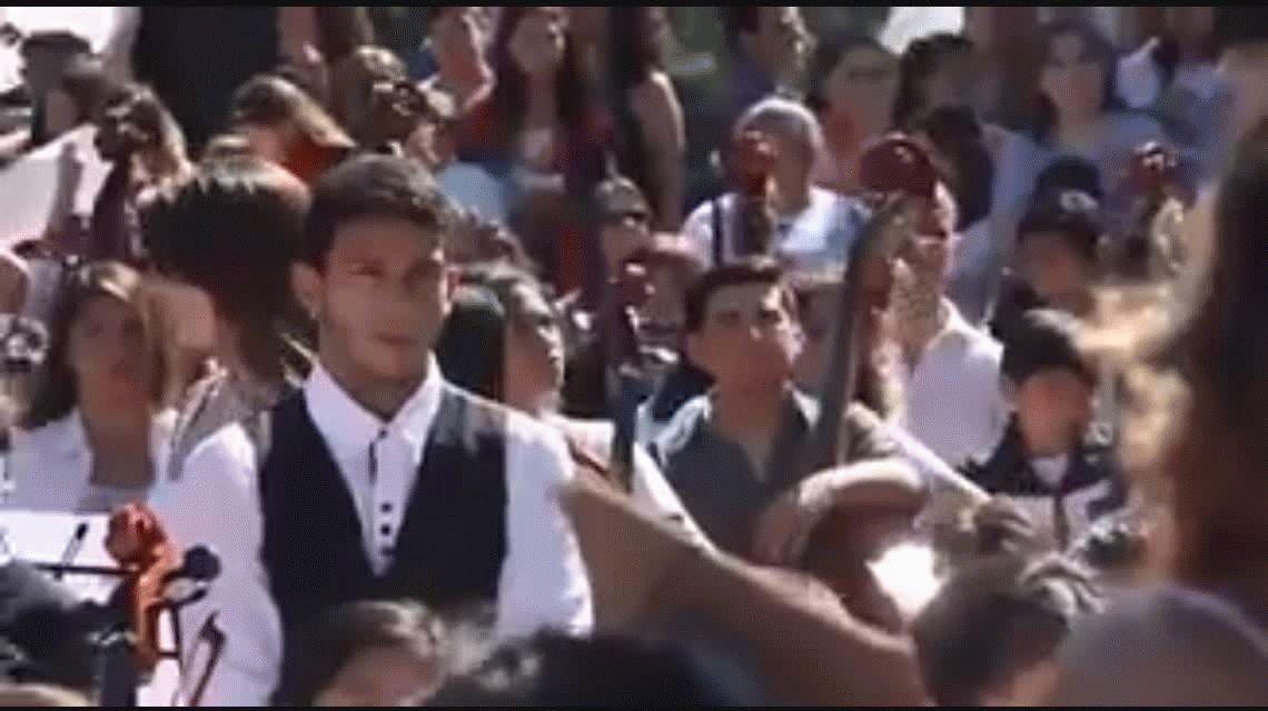 El video con el conmovedor discurso de la vicedirectora de la escuela de Moreno