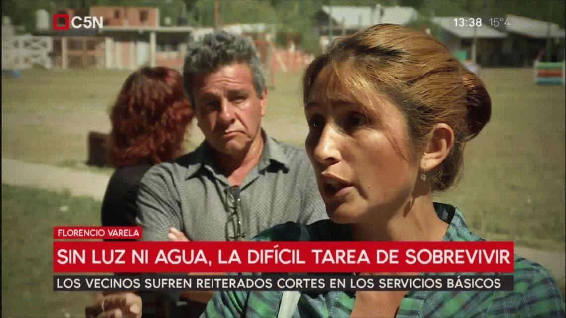 Argentina 2018: la difícil tarea de vivir sin luz ni agua