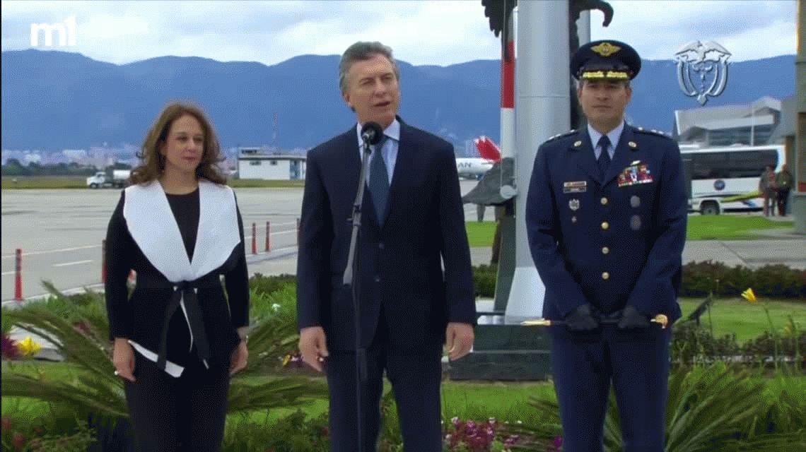 Insólito: Macri quiere colaborar con Colombia como colaboraron Serna, Bermúdez y Córdoba