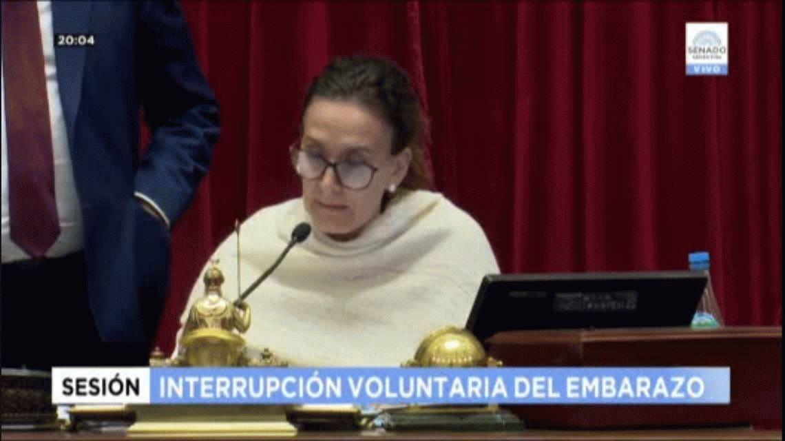 Michetti recomendó acelerar la votación por cuestiones de seguridad