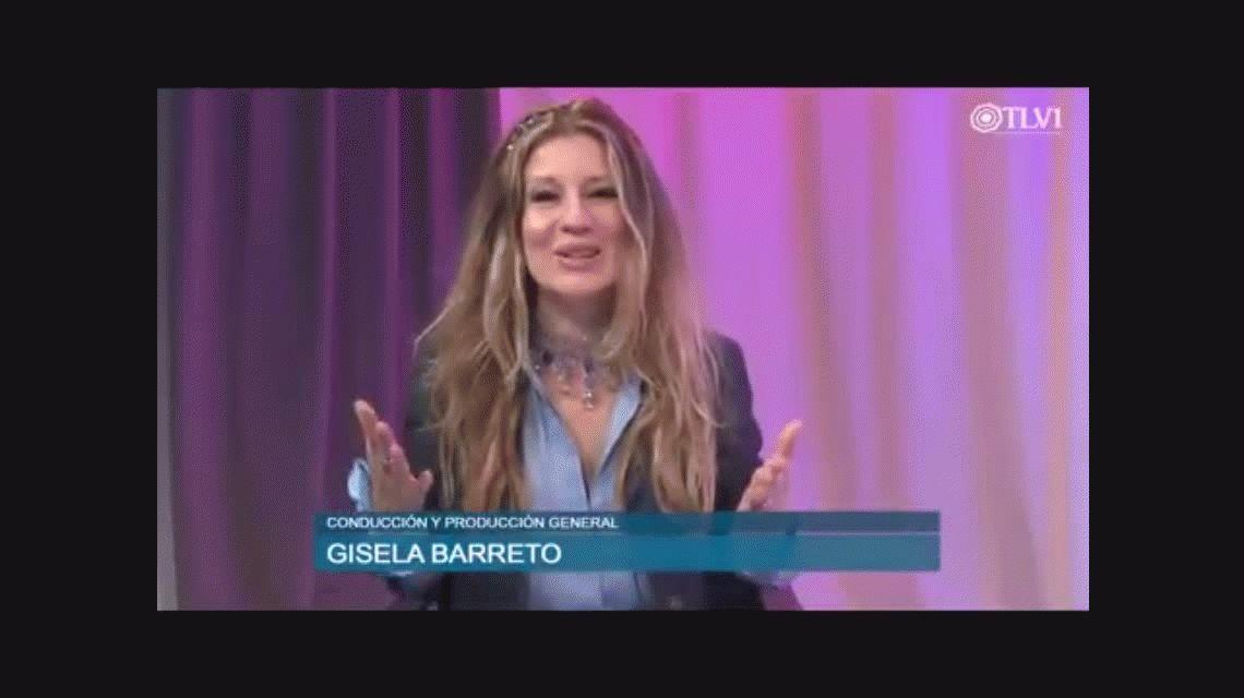 El festejo de Gisela Barreto por el rechazo a la legalización del aborto