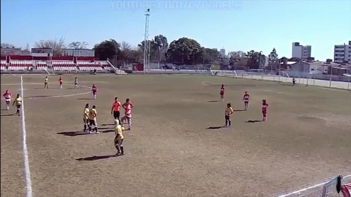 Batalla campal en el fútbol femenino cordobés: varias heridas