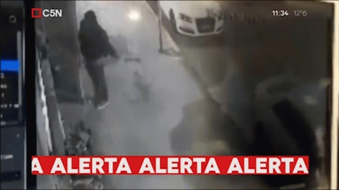VIDEO: Así se llevaban a Camila, la nena que estuvo desaparecida en Floresta