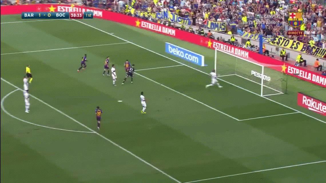¿Lo gritó o no lo gritó? Messi le hizo un golazo a Boca en el Camp Nou