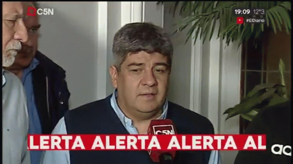 Internaron de urgencia a Pablo Moyano por una descompensación