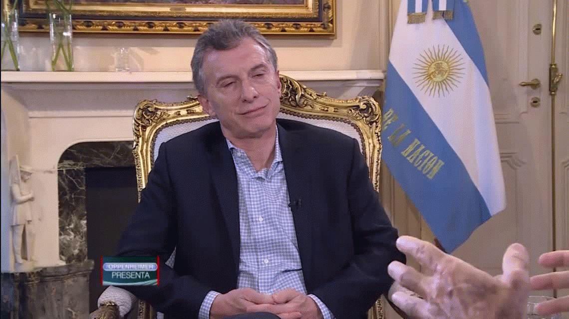 Macri: Muchos dicen que no me conviene que Cristina vaya presa