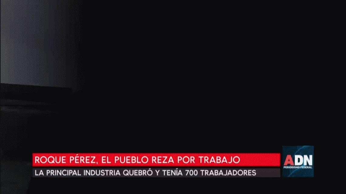 Quebró la principal industria de Roque Pérez y toda la ciudad sufre la desocupación