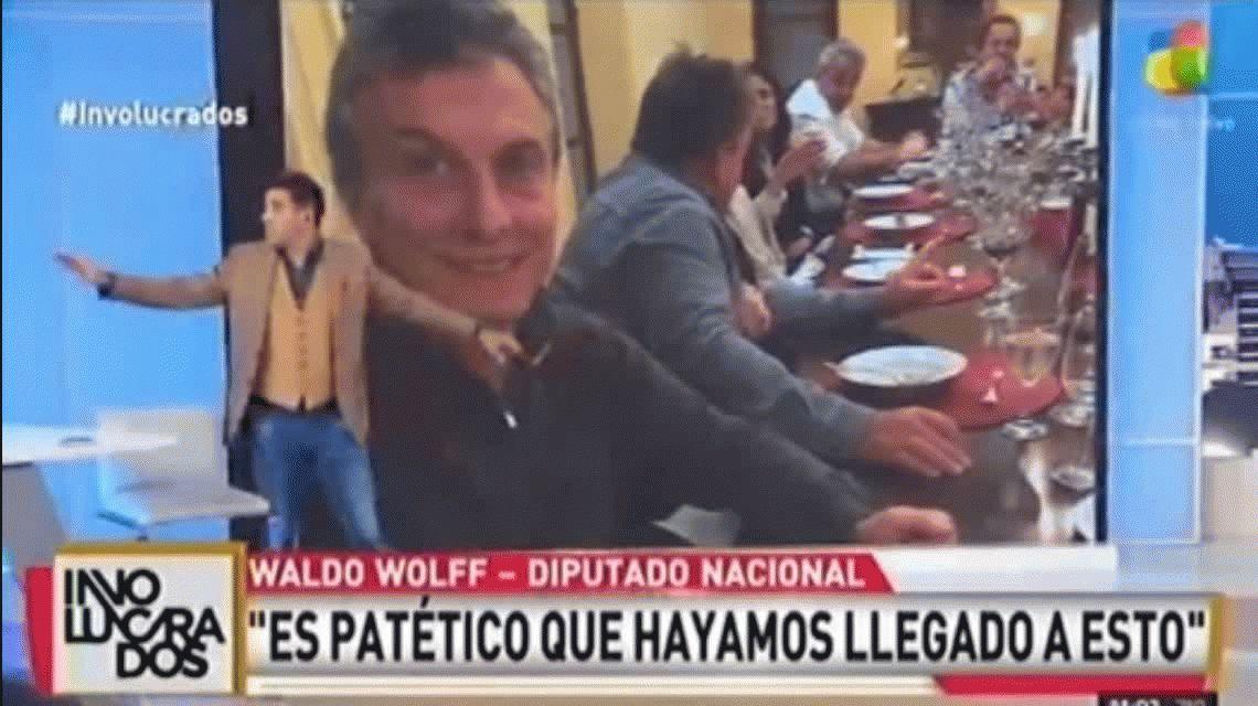 Waldo Wolff habló del flan de Casero y minimizó las muertes de la explosión de Moreno