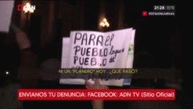 Insultos a C5N, queremos flan y se robaron dos PBI: lo que no se vio de la marcha por el desafuero de Cristina