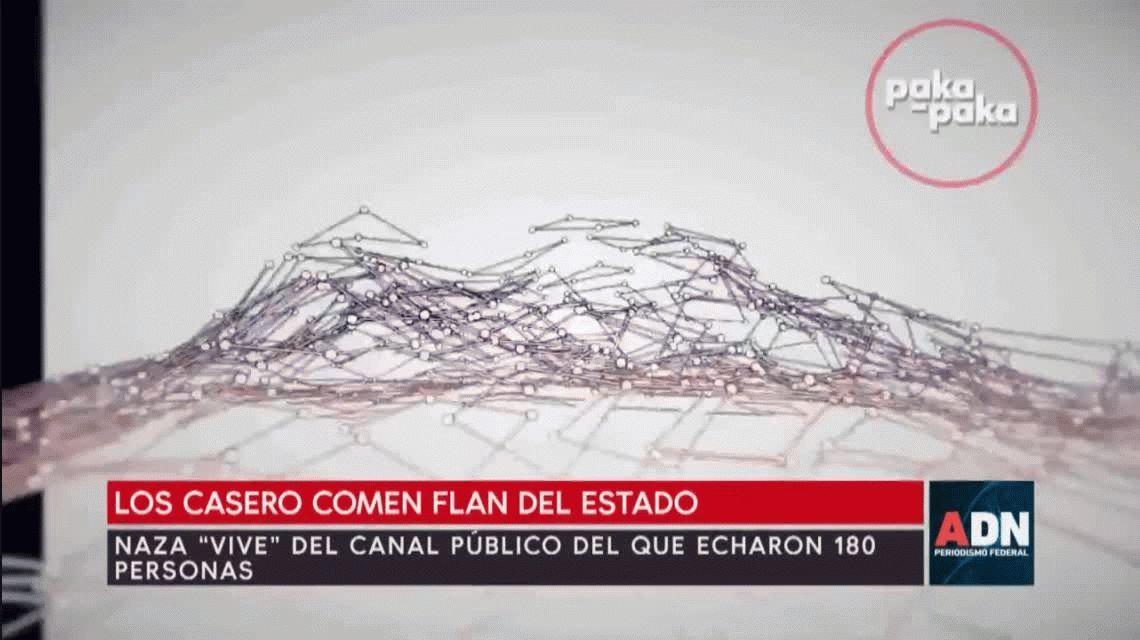 Flan Casero: el hijo de Alfredo trabaja en un canal del Estado que echó a 180 empleados